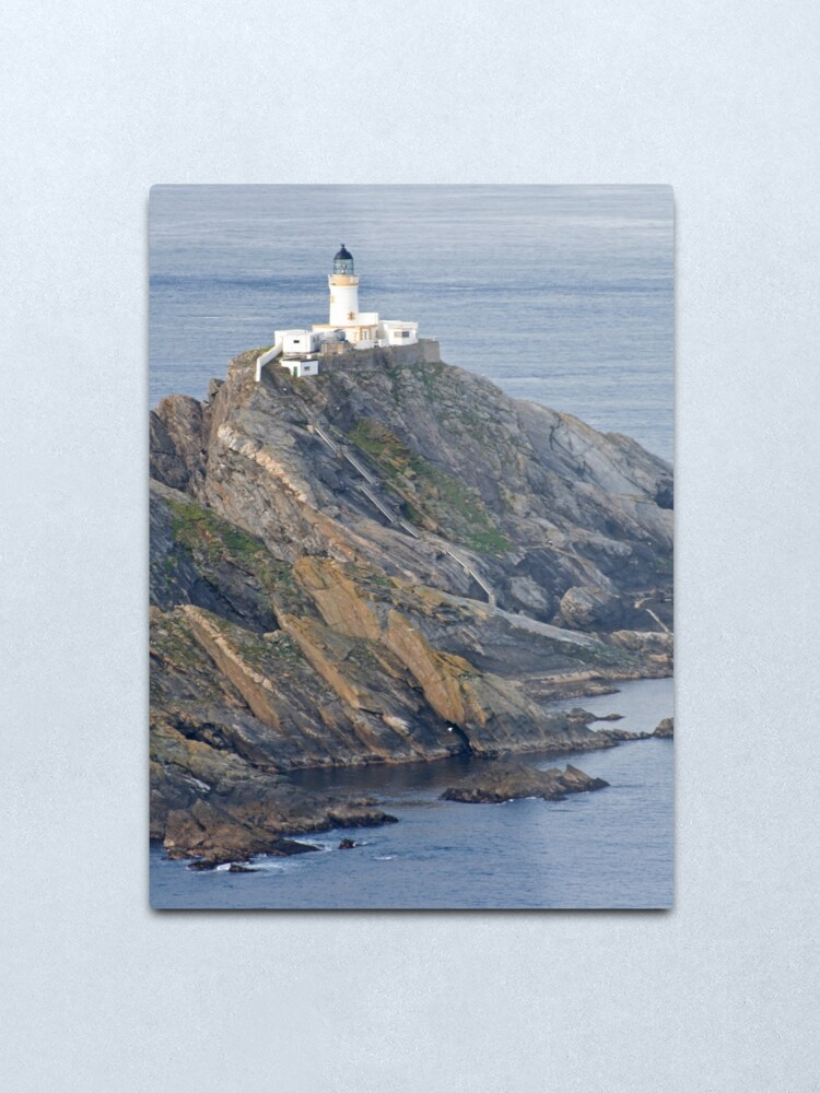 Alternate view of Muckle Flugga lighthouse Metal Print