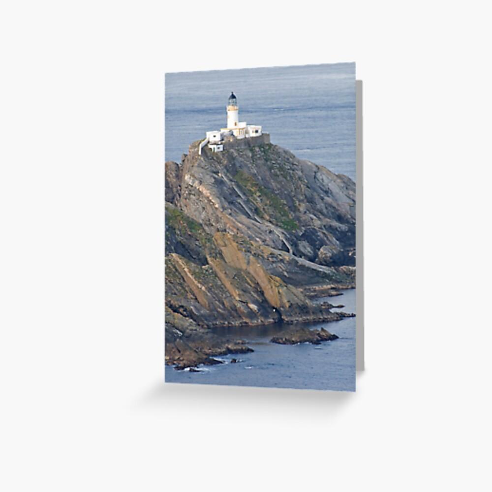 Muckle Flugga lighthouse Greeting Card