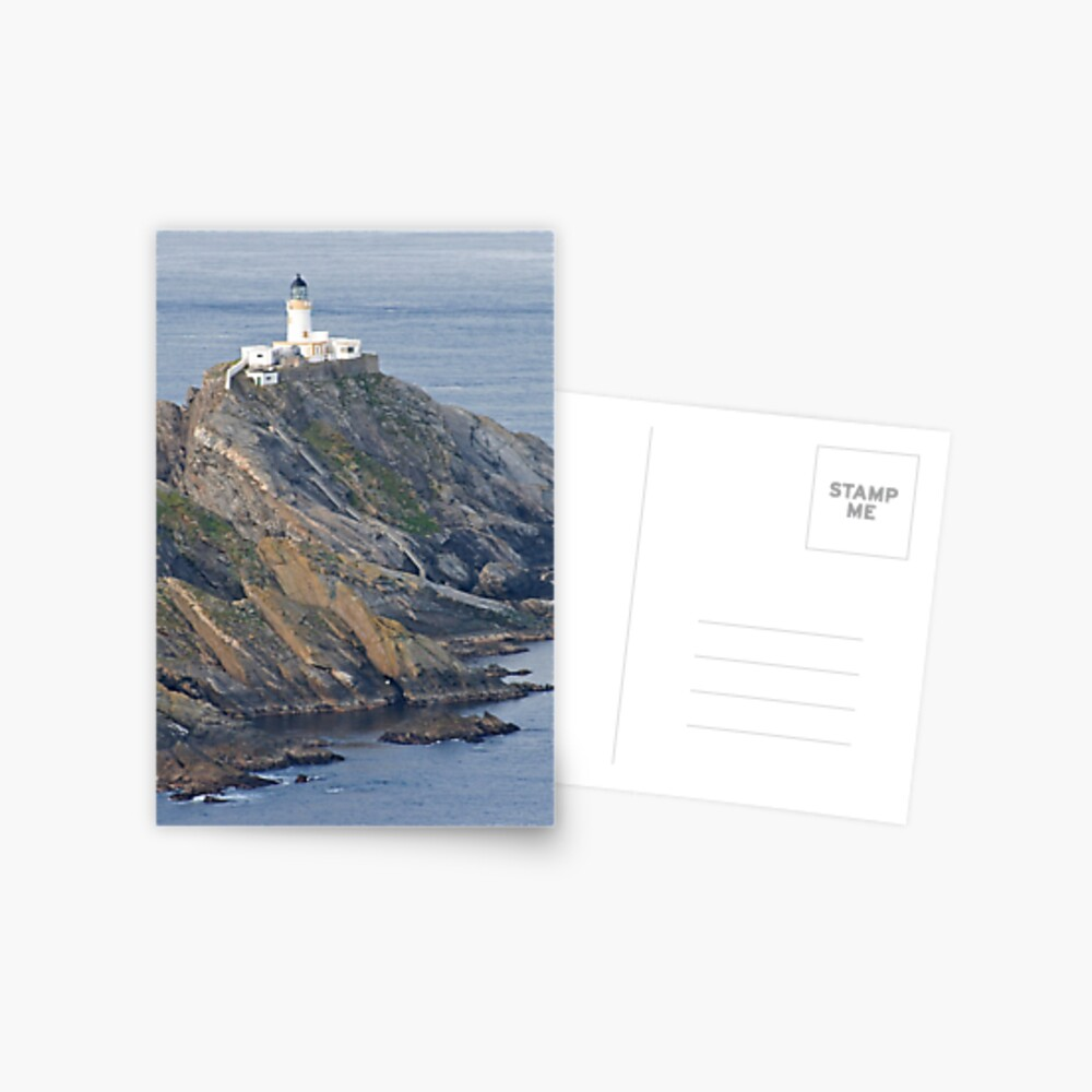 Muckle Flugga lighthouse Postcard