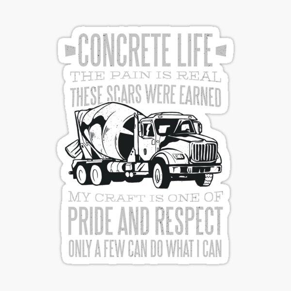Concrete Life Sticker
