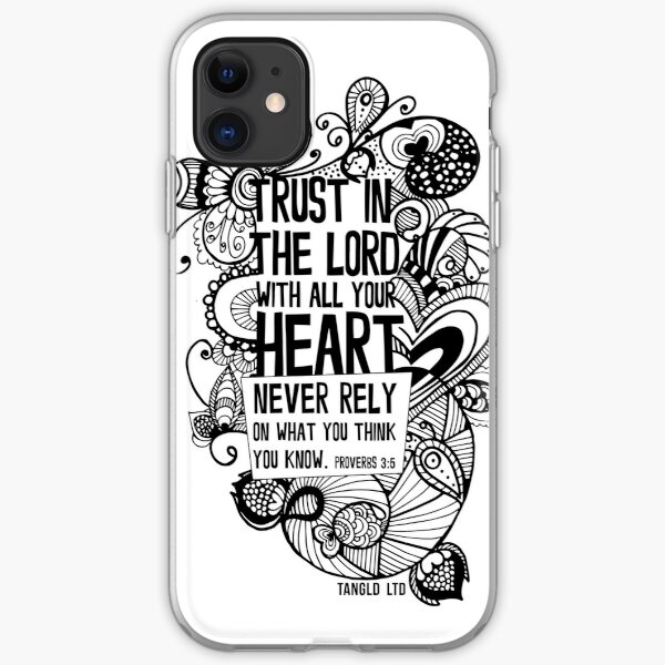 Trust in the Lord iPhone Soft Case