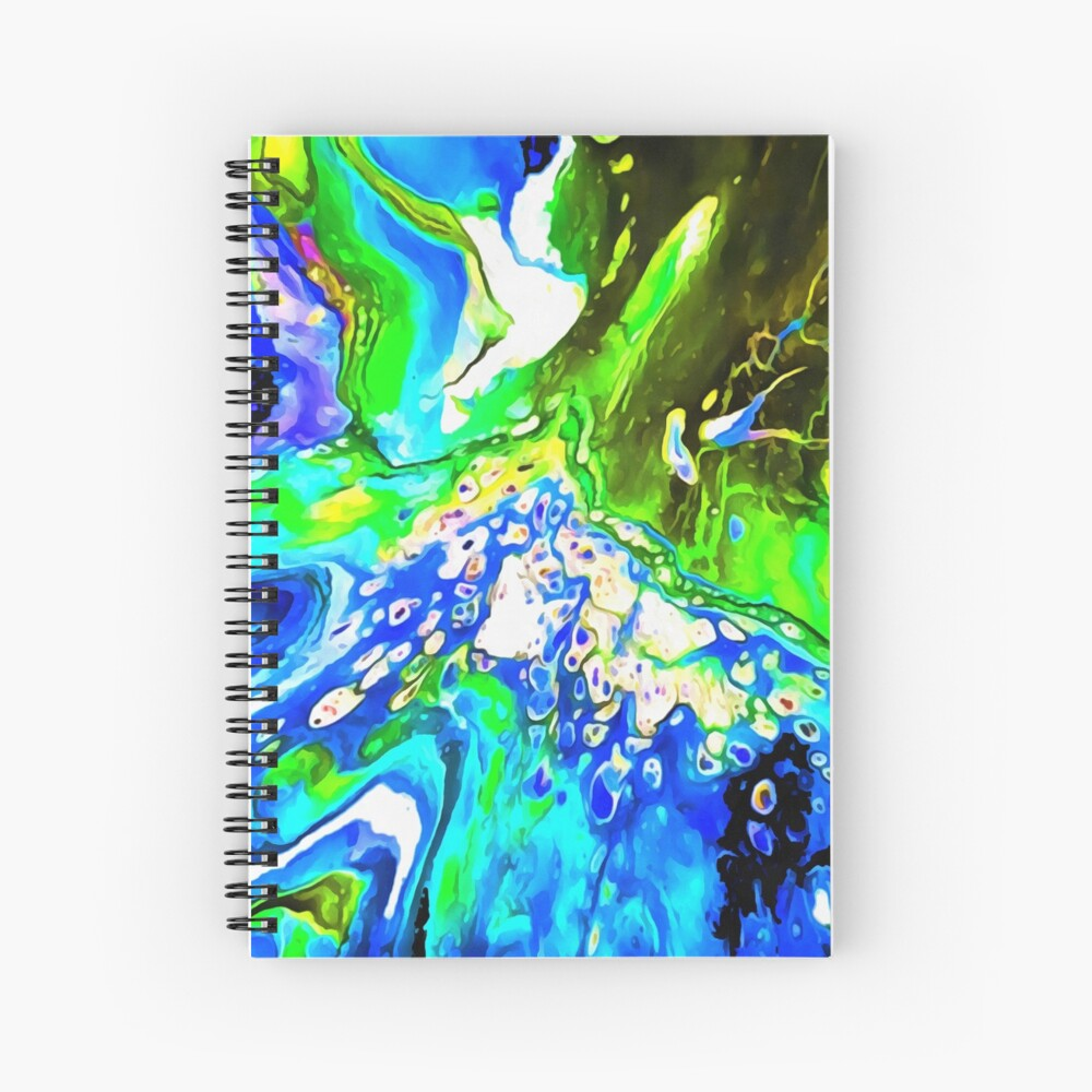 Blue 5 Junction Spiral Notebook