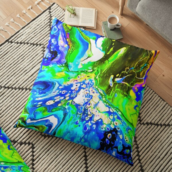Blue 5 Junction Floor Pillow