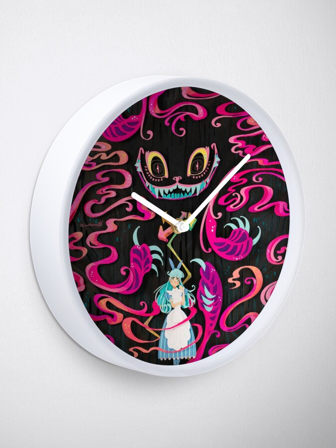 Alternate view of A Mad Grin Clock