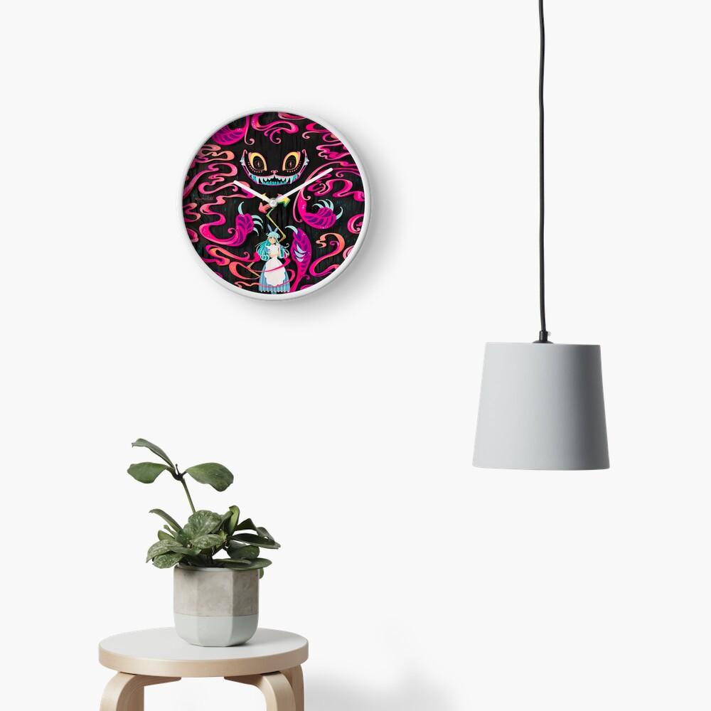 A Mad Grin Clock