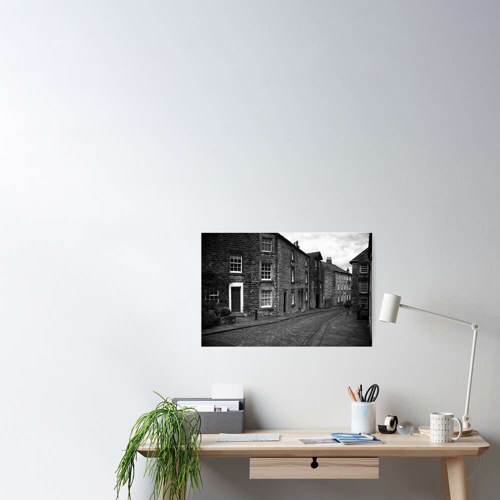 Street Scene, Lancaster, England Poster