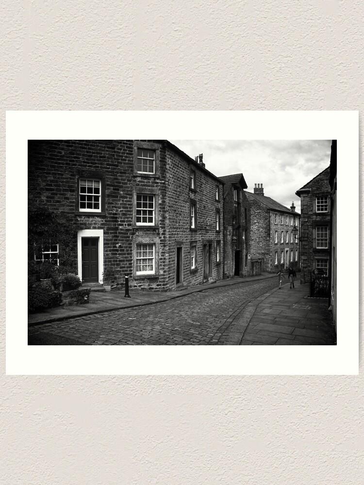 Alternate view of Street Scene, Lancaster, England Art Print