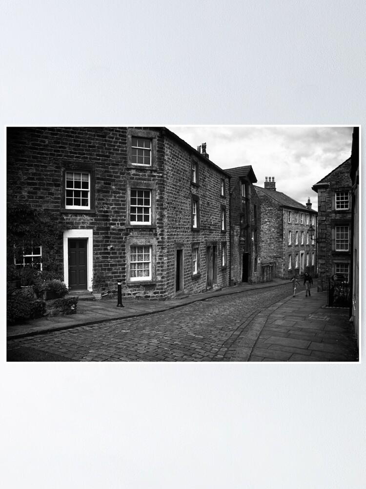 Alternate view of Street Scene, Lancaster, England Poster