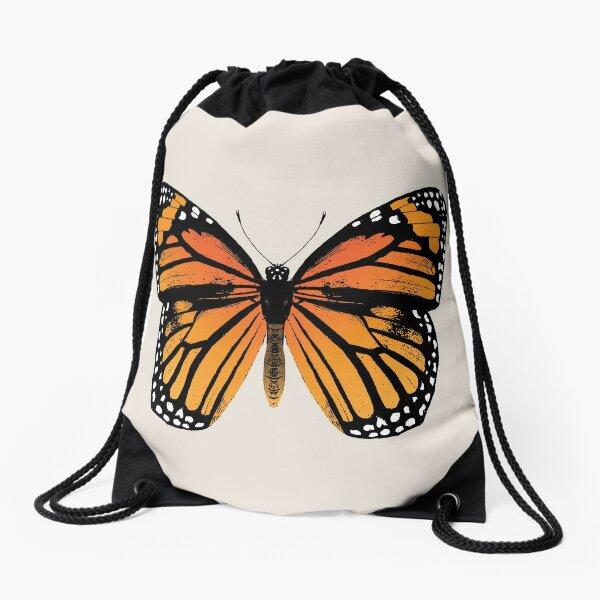 Monarch Butterfly | Vintage Butterflies |  Drawstring Bag
