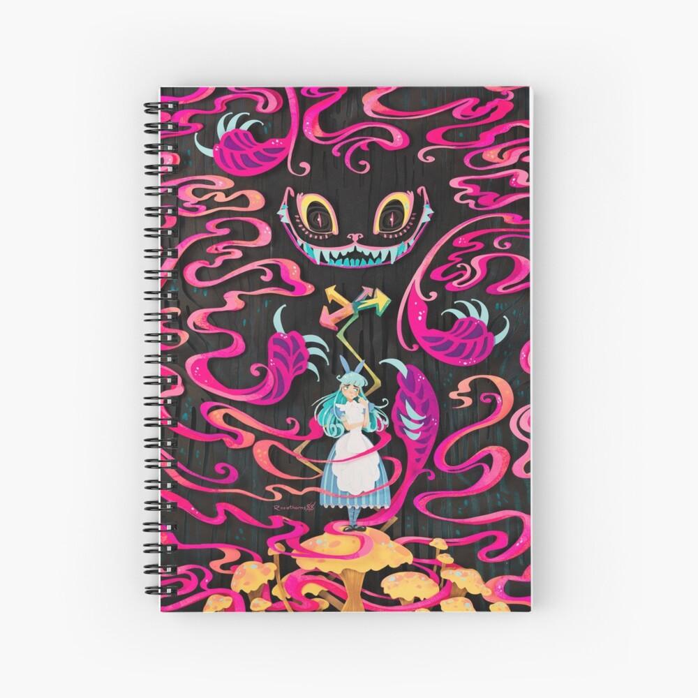 A Mad Grin Spiral Notebook