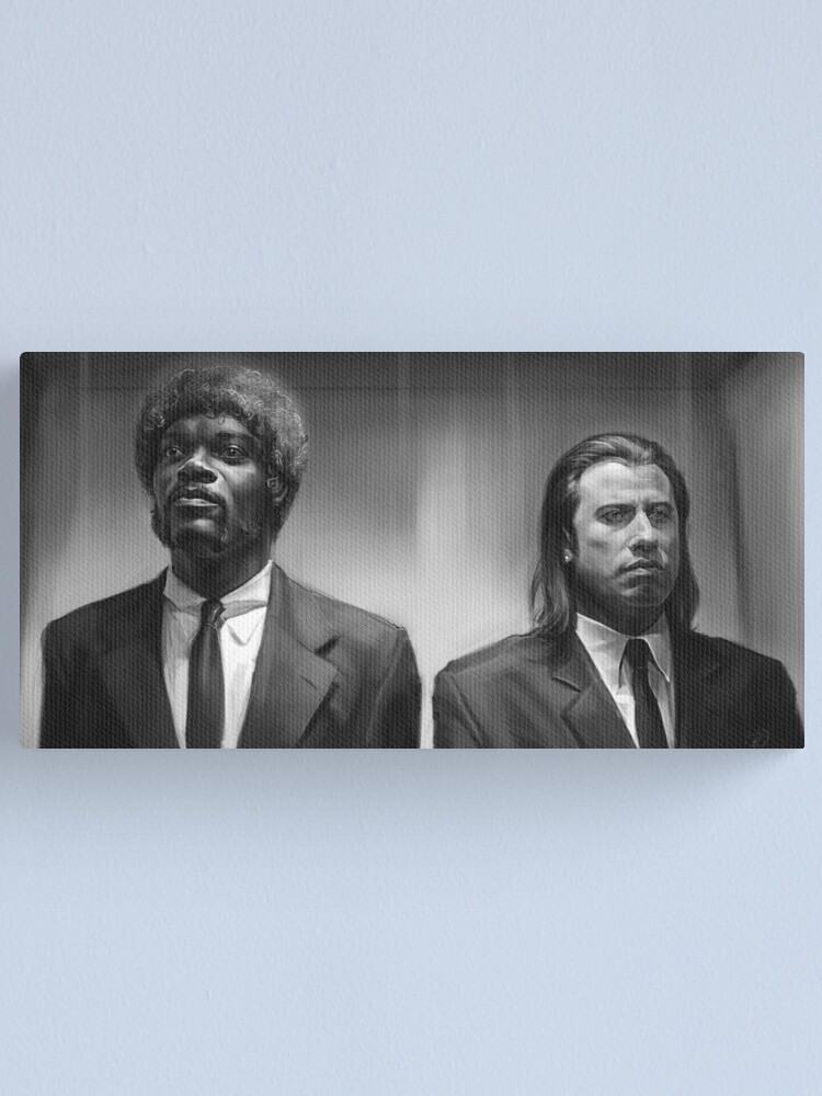 Alternate view of Pulp fiction Canvas Print