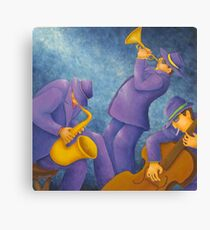 Cool Jazz Trio Canvas Print