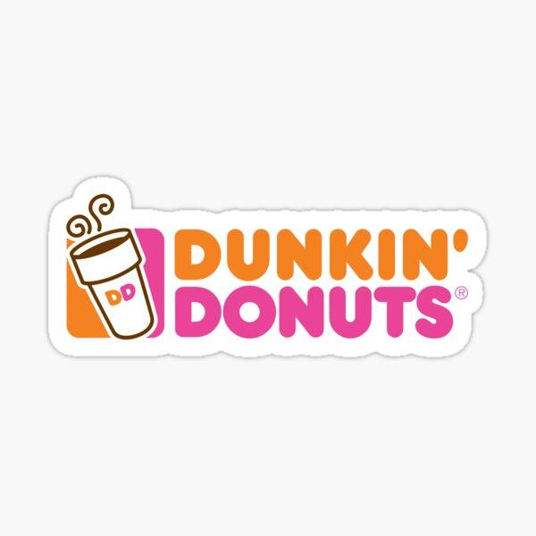 Dunkin' Donuts Logo Sticker
