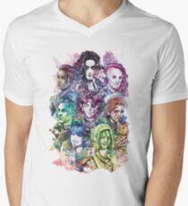 Der Mächtige Nein T-Shirt mit V-Ausschnitt
