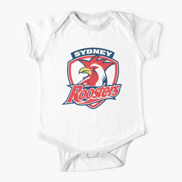 Sydney Roosters Short Sleeve Baby One-Piece