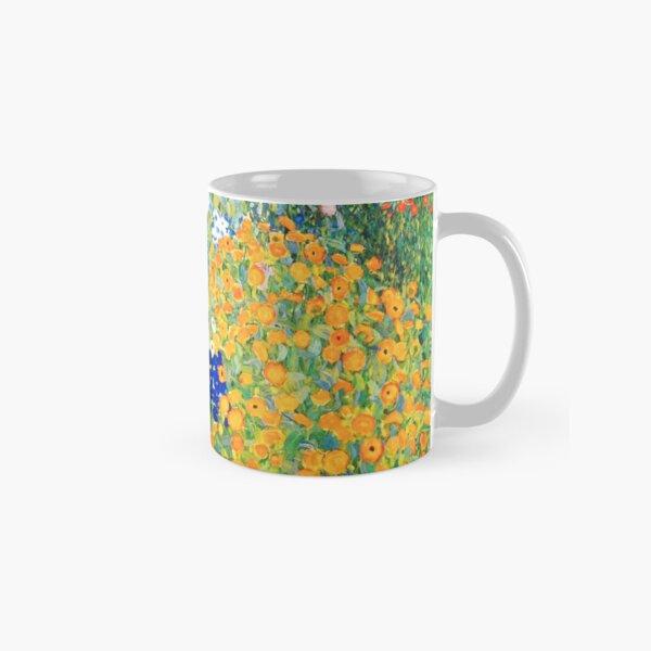 Flower Garden by Gustav Klimt Classic Mug