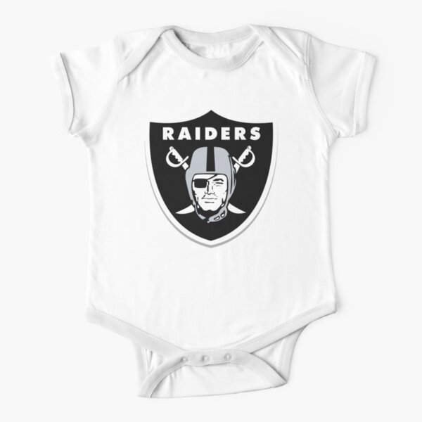 The Raiders Short Sleeve Baby One-Piece