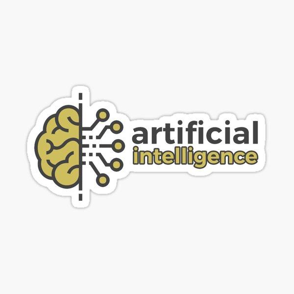 Artiicial Intelligence Logo Sticker