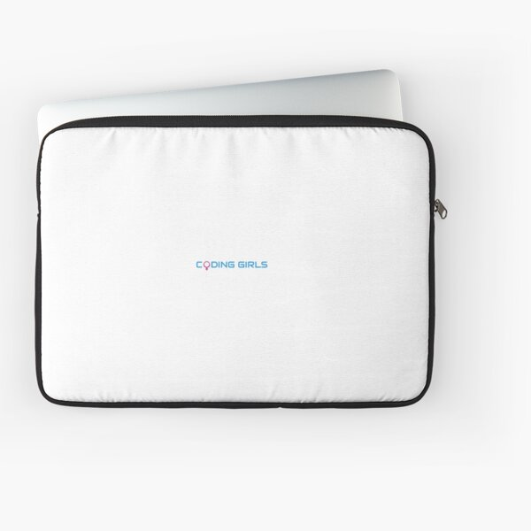 Coding Girls Logo Laptop Sleeve