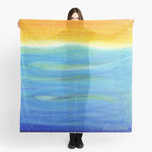 Sun Rise by Gregory D White Scarf