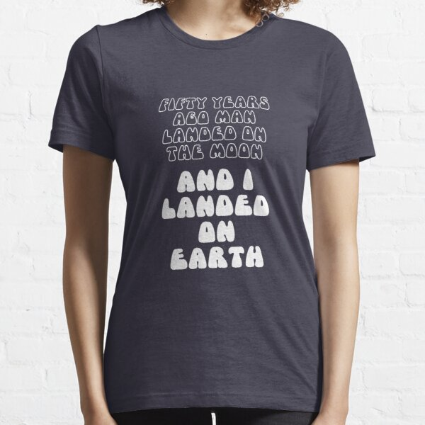 Funny 50th Birthday Moon Landing 1969 Celebration Essential T-Shirt