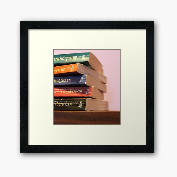 Percy Jackson and the Olympians Framed Art Print