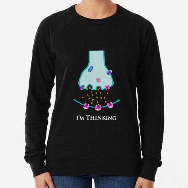 Je pense à Synapse - Neuroscience Sweatshirt léger