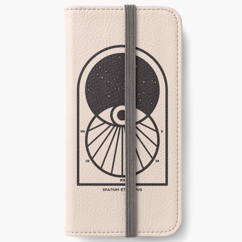 Space and Time iPhone Wallet