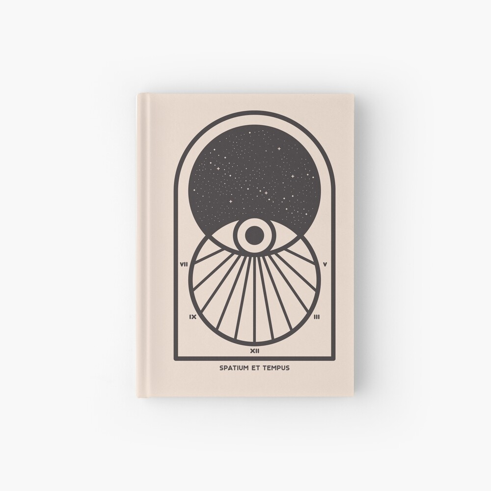 Space and Time Hardcover Journal