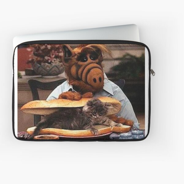 Alf the Cat Lover Laptop Sleeve