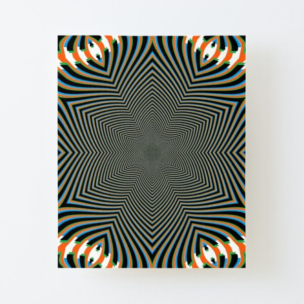 #Art, #pattern, #abstract, #decoration, design, creativity, color image, spiral Canvas Mounted Print