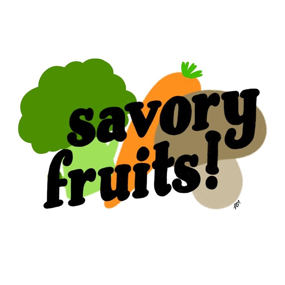 Savory Fruits by itsaduckblur