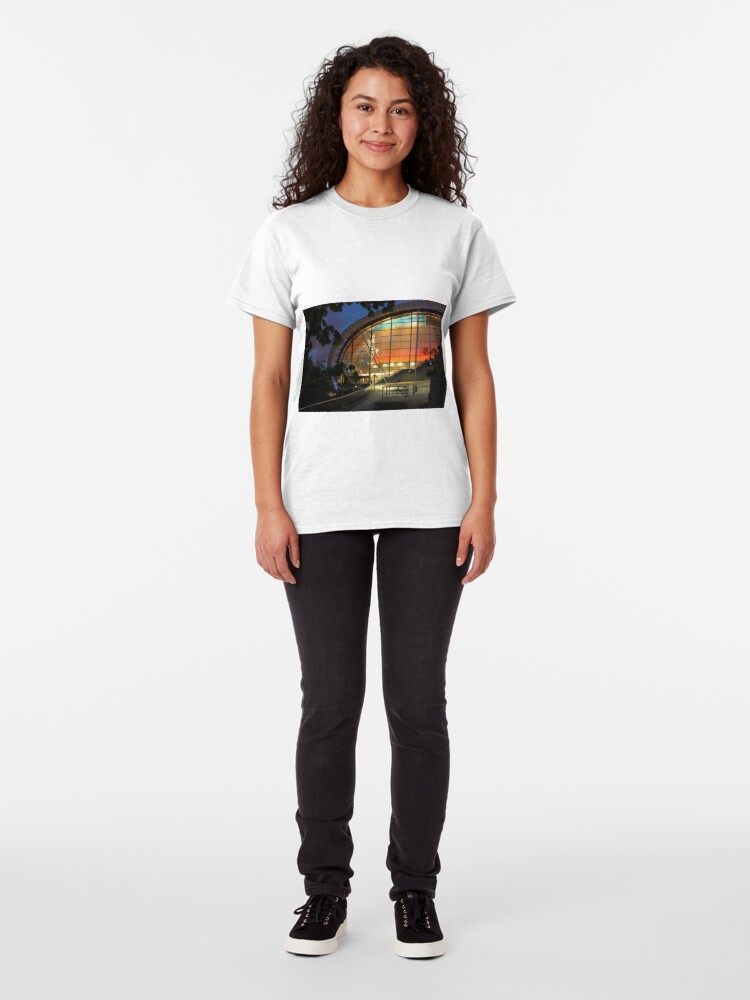 Alternate view of The Sage Centre, Newcastle-Gateshead, Tyne and Wear Classic T-Shirt