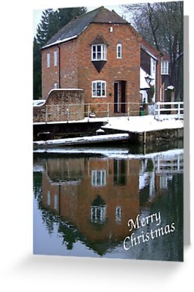 Reflections - Christmas Card by Samantha Higgs