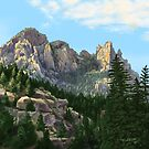 Cathedral Rock by Steven Thomason