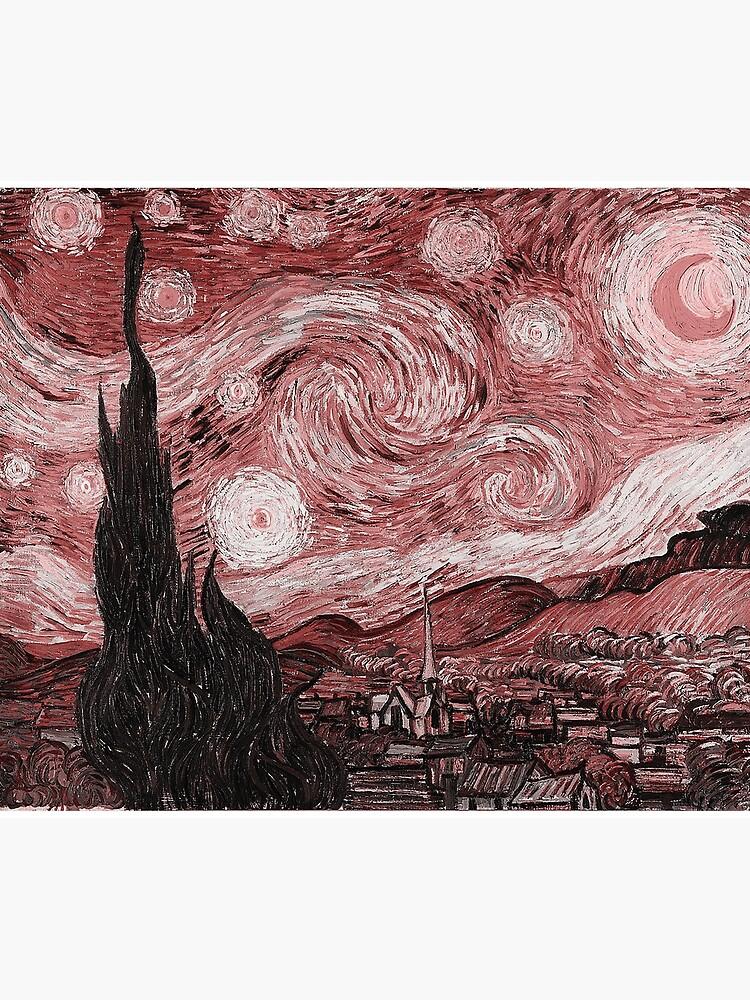Pink Starry Night by Freshfroot