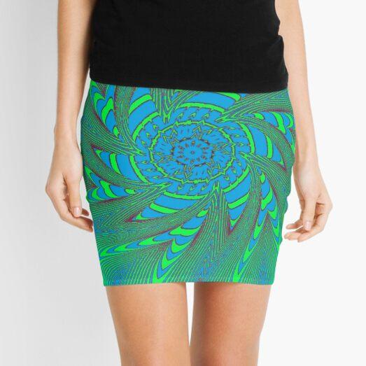 #Illusions gif, #abstract, #design, #pattern, art, illustration, twirl, hypnosis, twist, target, spiral Mini Skirt