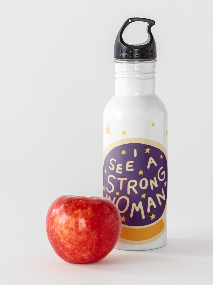 Alternate view of I see a strong woman Water Bottle