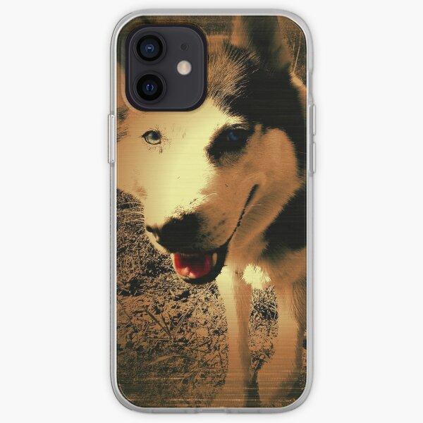 Hund - Siberian Husky  iPhone Flexible Hülle
