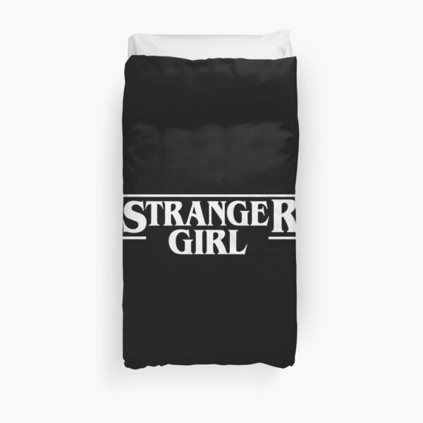 Stranger Girl Duvet Cover