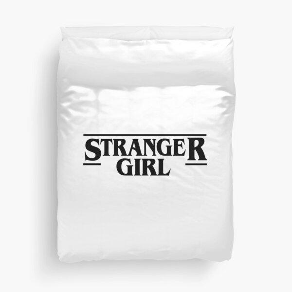 Stranger Girl Duvet Cover
