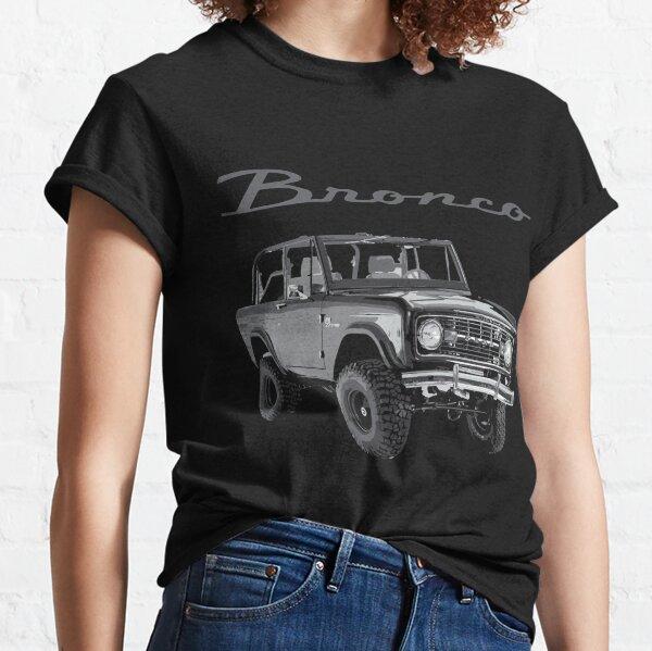 1973 Black Classic Ford Bronco Classic T-Shirt