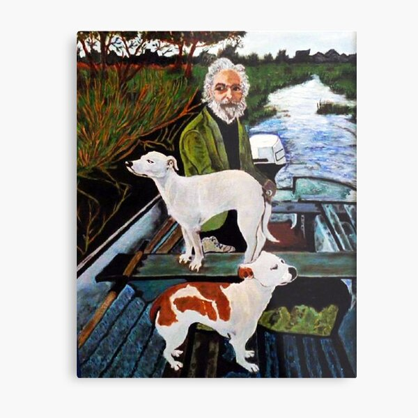 Goodfellas Painting Dogs Metal Print