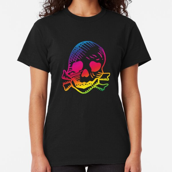 Keith Flint Skull tattoo with pride. Feel the rainbow. Classic T-Shirt
