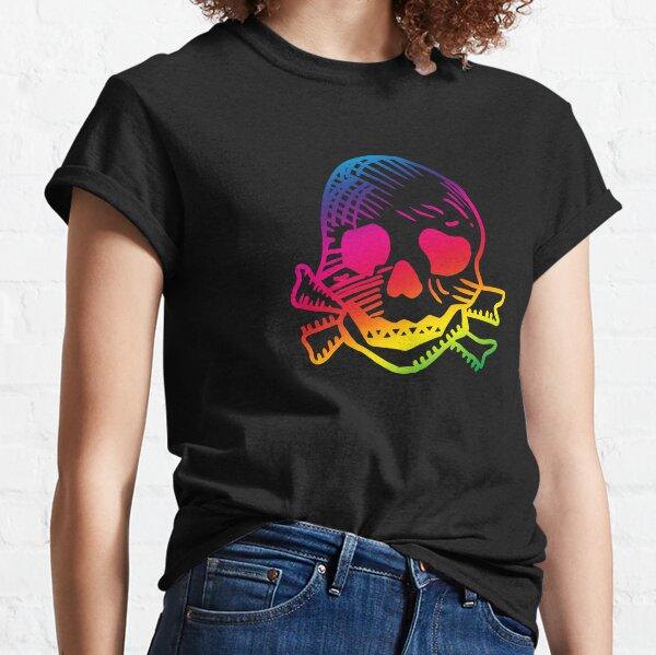 Keith Flint Skull tattoo with pride. Feel the rainbow. Classic T-Shirt