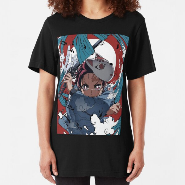 AnimeDemonSlayer Slim Fit T-Shirt