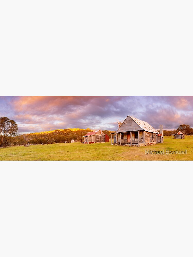 Coolamine Homestead Sunset, Kosciuszko National Park, New South Wales, Australia by Chockstone