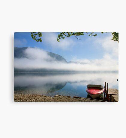 Lake Bohinj , Triglav National Park , Slovenia Canvas Print