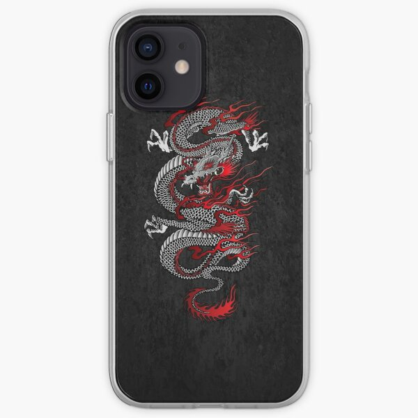 Asian Dragon iPhone Soft Case
