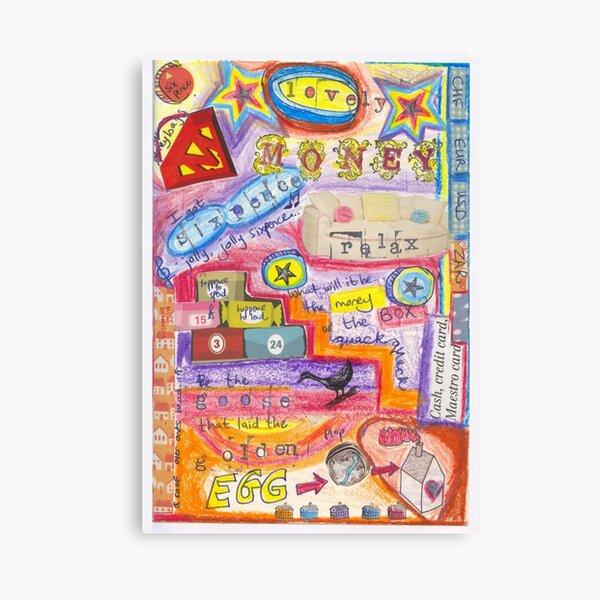 Love your money  Canvas Print